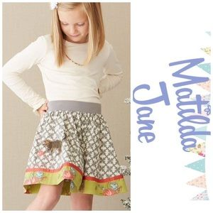 Matilda Jane pretty kitty skirt - size 4